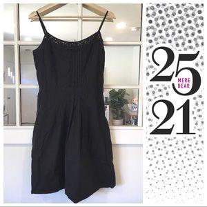 Dresses & Skirts - Black spaghetti strap sundress